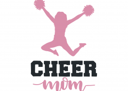 Cheer Mom SVG Cut File 9458