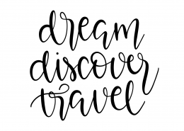 Dream Discover Travel SVG Cut File 9593