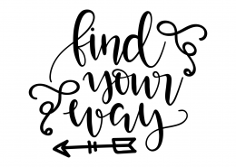 Find Your Way SVG Cut File 9599