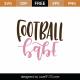 Football Babe SVG Cut File 9468