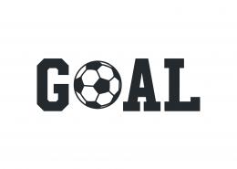 Goal SVG Cut File 9474