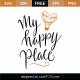 My Happy Place SVG Cut File 9631