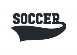 Soccer SVG Cut File 9486