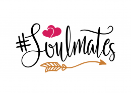 Soulmates SVG Cut File 9639
