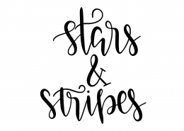 Star And Stripes SVG Cut File 9511