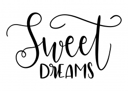 Sweet Dreams SVG Cut File 9524