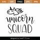 Unicorn Squad SVG Cut File 9534