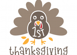 1st Thanksgiving SVG Cut File 9730