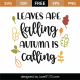Autumn Is Calling SVG Cut File 9746