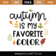 Autumn Is My Favorite Color SVG Cut File 9739