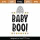 Baby Boo SVG Cut File 9800