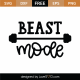 Beast Mode SVG Cut File 9753