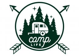 Camp Life SVG Cut File 9683