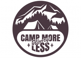 Camp More Worry Less SVG Cut File 9672