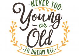 Dream Big SVG Cut File 9698