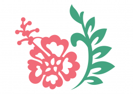 Flower SVG Cut File 9691