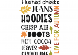 Flushed Cheeks Hoodies SVG Cut File 9770