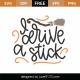 I Drive A Stick SVG Cut File 9784