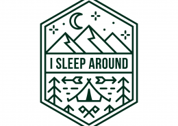 I Sleep Around SVG Cut File 9689
