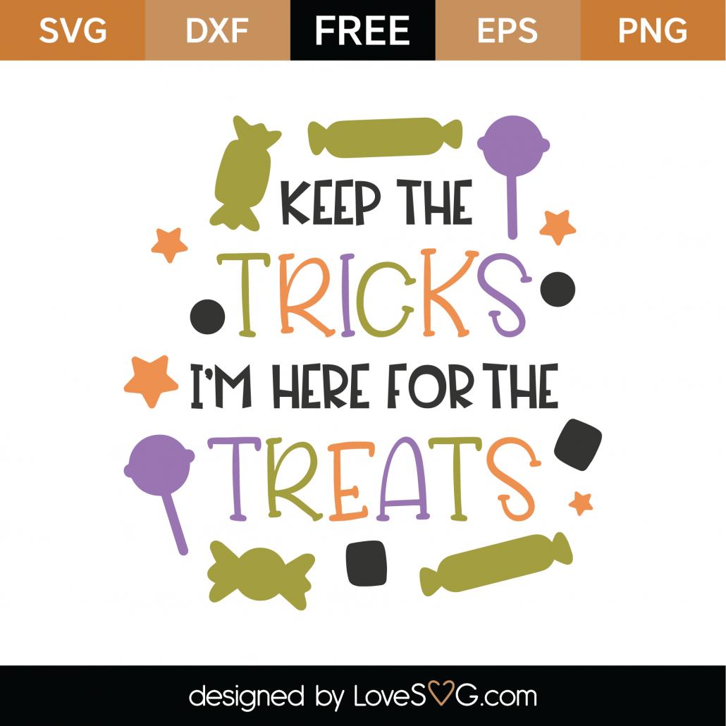 Keep The Tricks SVG Cut File 9735
