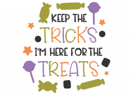 Keep The Tricks SVG Cut File 9735