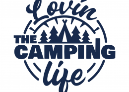 Lovin The Camping Life SVG Cut File 9676