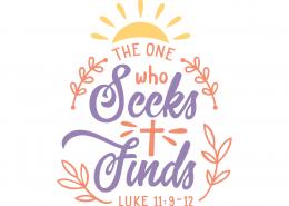 Luke 11-9-12 SVG Cut File 9660