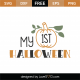 My 1st Halloween SVG Cut File 9756
