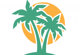 Palm Trees SVG Cut File 9701