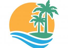 Palm Trees SVG Cut File 9703