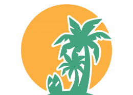 Palm Trees SVG Cut File 9704