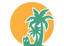 Palm Trees SVG Cut File 9704