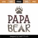Papa Bear SVG Cut File 9767