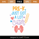 Pre-K Just Got A Lot Cuter SVG Cut File 9721