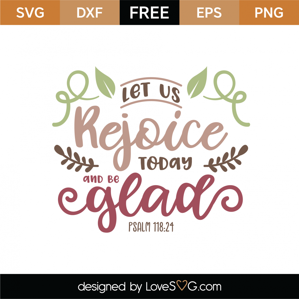 Psalm 118-24 SVG Cut File 9657