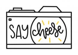 Say Cheese SVG Cut File 9751