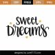 Sweet Dreams SVG Cut File 9752