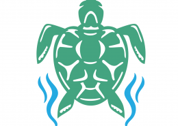 Turtle SVG Cut File 9695