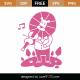 Whimsical Lion SVG Cut File 9715