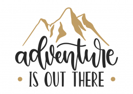 Adventure Is Out There SVG Cut File 9838