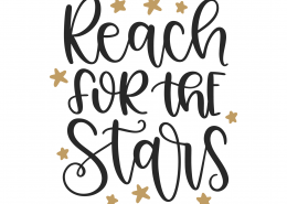 Reach For The Stars SVG Cut File 9971