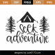 Seek Adventure SVG Cut File 9969