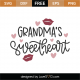 Grandma's Sweetheart SVG Cut File