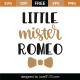 Little Mister Romeo SVG Cut File