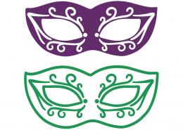 Mardi Gras Masquerade SVG Cut Files