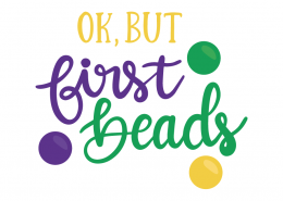 OK But First Beads SVG Cut File 104618