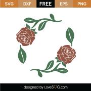 Roses SVG Cut Files