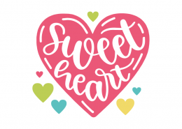 Sweet Heart SVG Cut Files