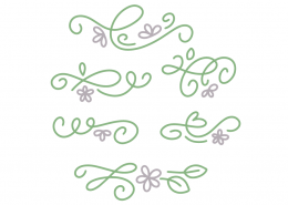 Dainty Flourishes SVG Cut File