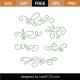 Dainty Flourishes SVG Cut File
